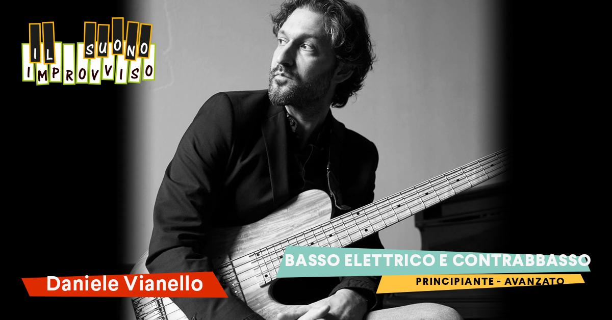 Corsi di Musica a Venezia Corso Di Basso Elettrico con Daniele Vianello moderna dal pop al funky alla musica leggera e jazz
