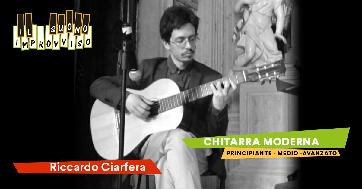 Corsi di Musica a Venezia Corso di Chitarra con Ricky Ciarfera moderno