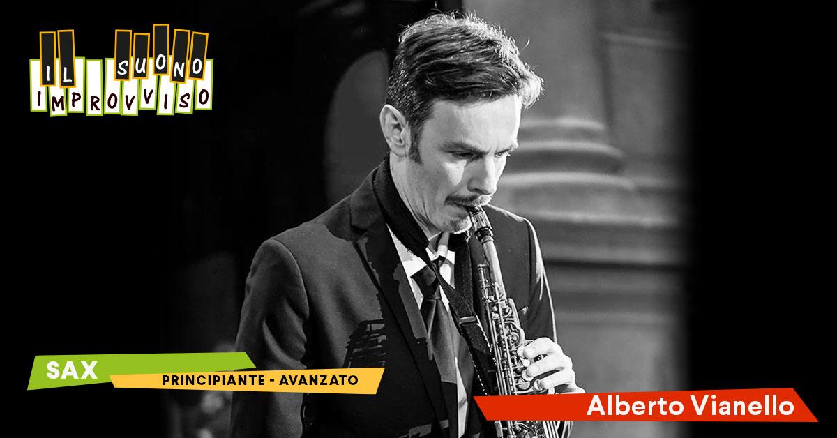 Corsi di Musica a Venezia Corso di  Sax con Alberto Vianello. moderno e jazz